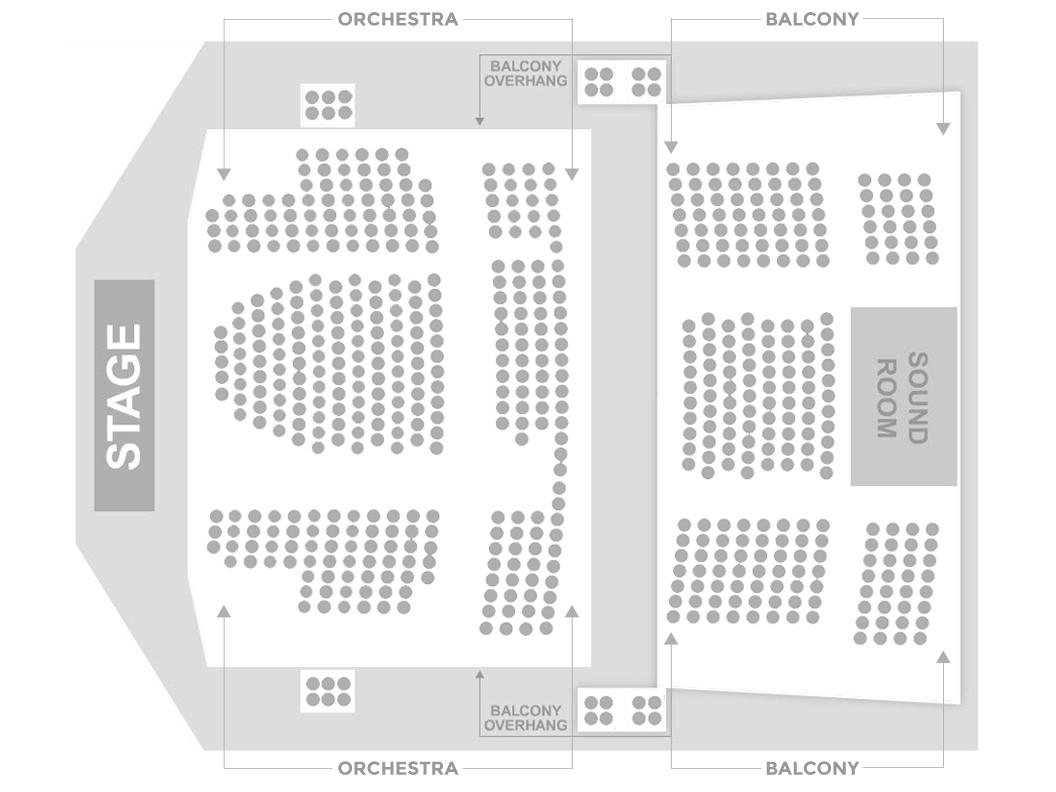 Sevenvenues Seating Charts